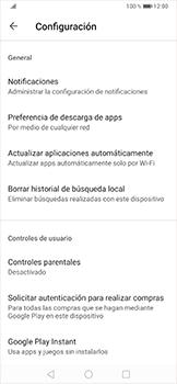 Cambiar configuración de actualizaciones de aplicaciones - Huawei P30 Pro - Passo 8