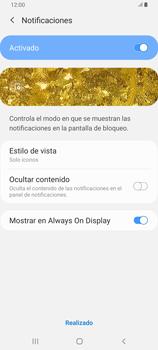 Desbloqueo del equipo por medio del patrón - Samsung Galaxy A80 - Passo 11