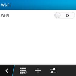 Configura el WiFi - BlackBerry Q5 - Passo 6