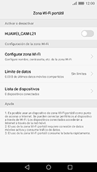 Configura el hotspot móvil - Huawei Cam Y6 II - Passo 9