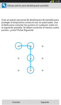 Desbloqueo del equipo por medio del patrón - Samsung Galaxy Tab 3 7.0 - Passo 7