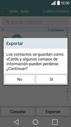 ¿Tu equipo puede copiar contactos a la SIM card? - LG C50 - Passo 10