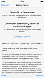 Crea una cuenta - Apple iPhone 6s - Passo 9
