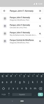 Uso de la navegación GPS - Motorola One Vision (Single SIM) - Passo 11