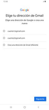 Crea una cuenta - Samsung Galaxy A80 - Passo 9