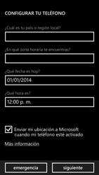 Activa el equipo - Nokia Lumia 1320 - Passo 9