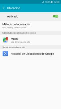 Uso de la navegación GPS - Samsung Galaxy Note 5 - N920 - Passo 20