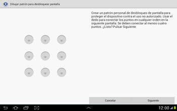 Desbloqueo del equipo por medio del patrón - Samsung Galaxy Note 10-1 - N8000 - Passo 7