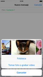 Envía fotos, videos y audio por mensaje de texto - Apple iPhone 6s - Passo 8