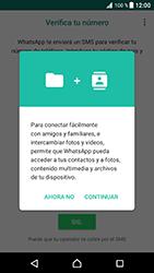 Configuración de Whatsapp - Sony Xperia XZ Premium - Passo 5