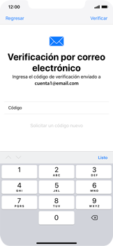 Crea una cuenta - Apple iPhone XS Max - Passo 19
