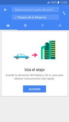 Uso de la navegación GPS - Samsung Galaxy S7 - G930 - Passo 11