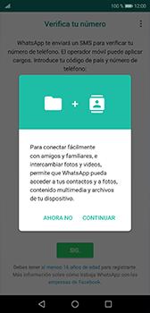 Configuración de Whatsapp - Huawei P20 - Passo 5