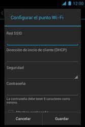 Configura el hotspot móvil - Motorola RAZR D1 XT914 - Passo 7