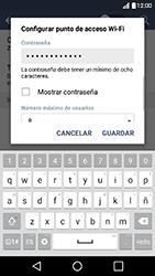 Configura el hotspot móvil - LG K10 - Passo 8