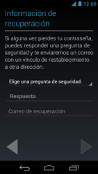 Crea una cuenta - Motorola RAZR D3 XT919 - Passo 11