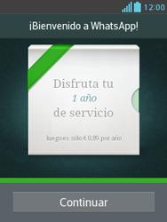 Configuración de Whatsapp - LG Optimus L3 II - Passo 9