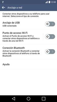 Comparte la conexión de datos con una PC - LG G4 - Passo 6