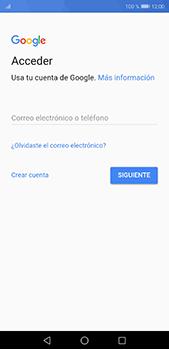 Crea una cuenta - Huawei P20 Pro - Passo 2