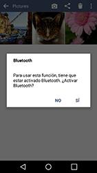 Transferir fotos vía Bluetooth - LG K10 - Passo 10