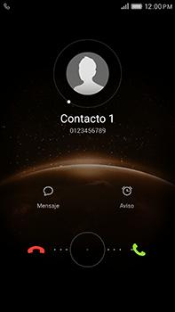 Contesta, rechaza o silencia una llamada - Huawei G8 Rio - Passo 2