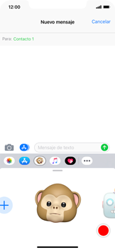 Enviar Animoji - Apple iPhone XS Max - Passo 10