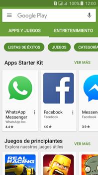 Instala las aplicaciones - Samsung Galaxy J7 - J700 - Passo 7