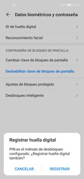 Cómo cambiar el código de bloqueo de pantalla de tu teléfono - Huawei P40 Lite - Passo 7