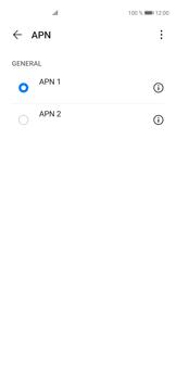 Configura el Internet - Huawei P40 - Passo 16