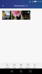 Transferir fotos vía Bluetooth - Huawei Y6 - Passo 7