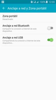 Comparte la conexión de datos con una PC - Samsung Galaxy J7 - J700 - Passo 7
