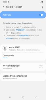 Configura el hotspot móvil - Samsung Galaxy A50 - Passo 12
