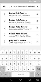 Uso de la navegación GPS - Huawei Y6 2018 - Passo 7