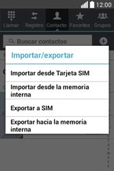¿Tu equipo puede copiar contactos a la SIM card? - LG L40 - Passo 6