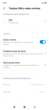 Cómo seleccionar una red en tu teléfono manualmente - Xiaomi Redmi Note 9 Pro - Passo 5