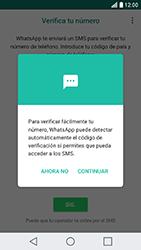 Configuración de Whatsapp - LG X Cam - Passo 10