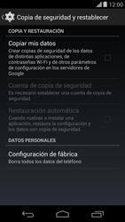 Restaura la configuración de fábrica - Motorola Moto X (2a Gen) - Passo 5