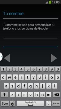 Crea una cuenta - Samsung Galaxy Note Neo III - N7505 - Passo 5