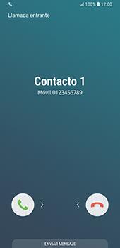 Contesta, rechaza o silencia una llamada - Samsung Galaxy S9 - Passo 3