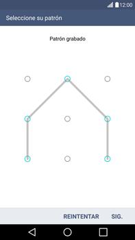 Desbloqueo del equipo por medio del patrón - LG G4 - Passo 10