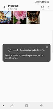 Transferir fotos vía Bluetooth - Samsung Galaxy S9 - Passo 7