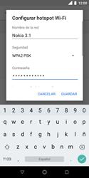 Configura el hotspot móvil - Nokia 3.1 - Passo 9