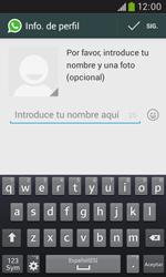 Configuración de Whatsapp - Samsung Galaxy Trend Plus S7580 - Passo 8