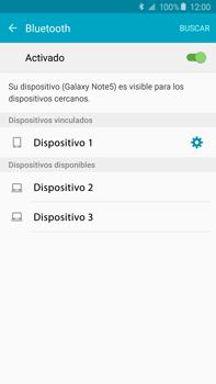 Conecta con otro dispositivo Bluetooth - Samsung Galaxy Note 5 - N920 - Passo 8