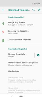 Desbloqueo del equipo por medio del patrón - Motorola One Vision (Single SIM) - Passo 5