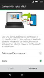 Activa el equipo - HTC One M8 - Passo 8