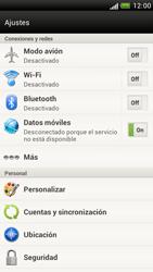 Configura el hotspot móvil - HTC One S - Passo 4