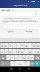 Configura el hotspot móvil - Huawei Y6 - Passo 8