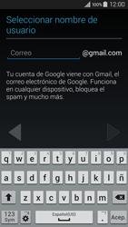 Crea una cuenta - Samsung Galaxy A3 - A300M - Passo 6