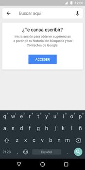 Uso de la navegación GPS - Motorola Moto E5 - Passo 6